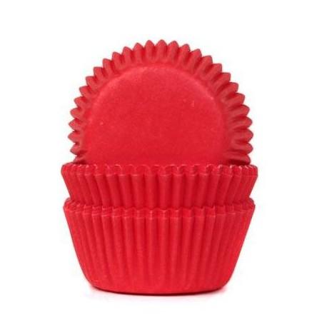 HoM Mini papirčki za peko HM1982 Red Velvet  60 kos