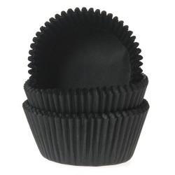 HoM Mini papirčki za peko HM0534 Black  60 kos