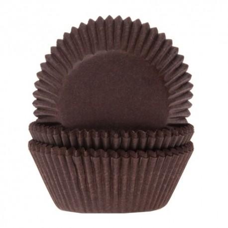 HoM Mini papirčki za peko HM0541 Brown  60 kos