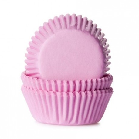 HoM Mini papirčki za peko HM1616 Light Pink  60 kos
