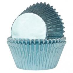 HoM Mini papirčki za peko Foil HM5998 Baby Blue  36 kos
