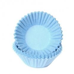 HoM Mini papirčki za peko Chocolate HM6581 Pastel Blue 100 kos