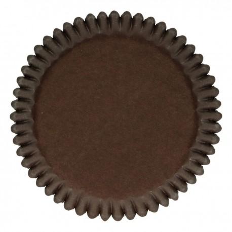 FunCakes Papirčki za peko FC4032 Brown / Rjava 48 kos
