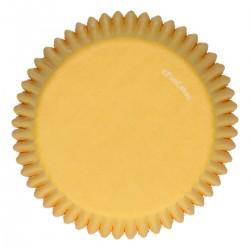 FunCakes Papirčki za peko FC4002 Yellow / Rumena  48 kos