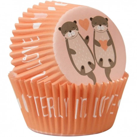 Papirčki za peko Wilton VD 415-0-0187 Otterly in Love 75 kos