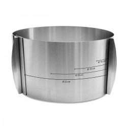 ScrapCooking SCI1914 Adjustable Baking Frame / Nastavljiv obroč za torto 15-23 cm 12 cm višine