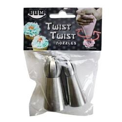 JEM NZ904 Twist Twist Nozzle Set / Konici za dekoriranje (18T + 19T)