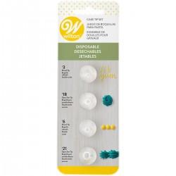 Wilton 418-6613 Disposable Tip / Set konic za dekoriranje  4 kos