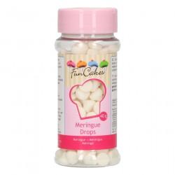 FunCakes Dekoracija Meringue Drops / Beljakovi poljubčki 40g