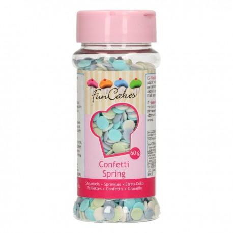 FunCakes G42410 Confetti Spring 60g