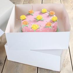 FunCakes Cake Box / Škatla za torto  FC1075 32x32x11.5cm 2kos