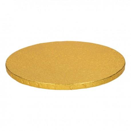 FunCakes Cake Drum FC1325RD Podstavek za torto 25 cm  Gold 1 kos