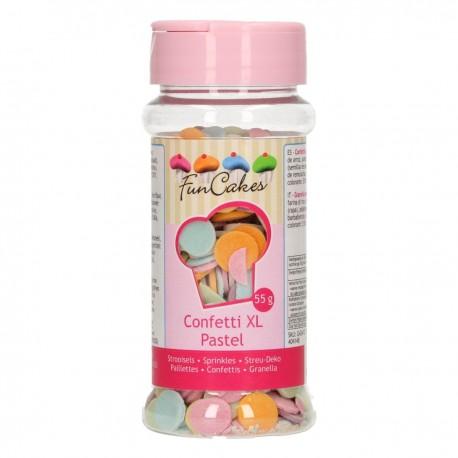 FunCakes G42412  Confetti XL Pastel 55g