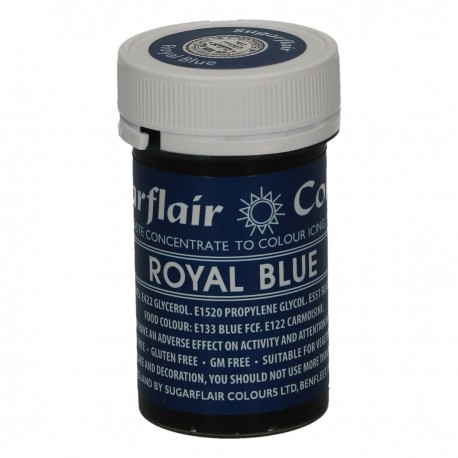 Sugarflair A135 Paste Color Royal Blue 25g