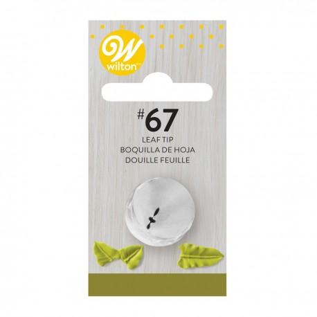 Wilton 418-67  Decorating Tip / Konica za dekoriranje 067 Leaf / List
