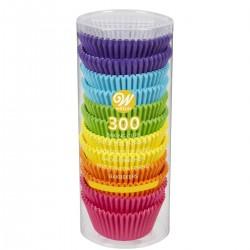 Papirčki za peko Wilton 05-0-0034 Rainbow Brights 300 kos