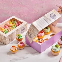 FunCakes Cupcake Box / Škatla za Cupcakes F8026524 x 16 x 8 cm 3 kos