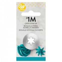 Wilton 418-2110  Decorating Tip / Konica za dekoriranje 1M Open Star