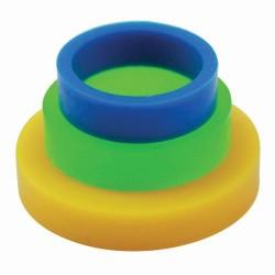 PME PPR02 Rolling Pin Quide /  Obroči/distančniki za valjar MALI 3 kos