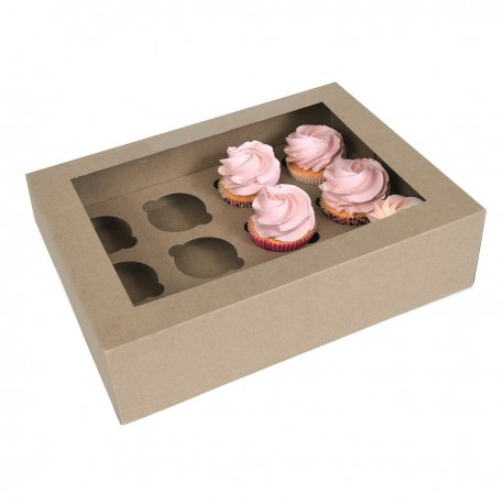 HoM Cupcake Box / Škatla za Cupcakes HM7229  12 cupcakes 2 kos