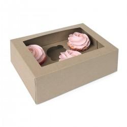 HoM Cupcake Box / Škatla za Cupcakes HM7199  6 cupcakes 2 kos