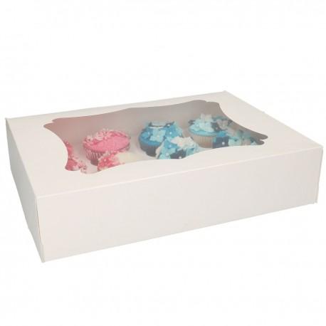 FunCakes Cupcake Box / Škatla za Cupcakes FC1208 12 cupcakes 3 kos