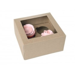 HoM Cupcake Box / Škatla za Cupcakes HM6680  4 cupcakes 2 kos