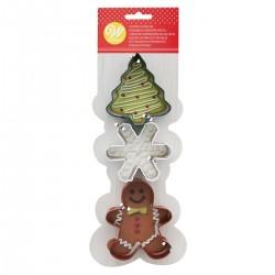 Set modelčkov za piškote Wilton XMS02-0-0381 Christmass