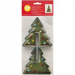 Set dveh modelčkov za piškote Wilton XMS 02-0-0388 Tree 2 kos
