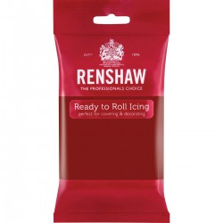 Renshaw RO2903 Rolled Fondant Pro 250 g Ruby Red