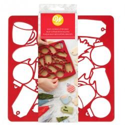 Hitri izrezovalnik piškotov Wilton XMS 2304-0-0013 Multi Cookie Cutter