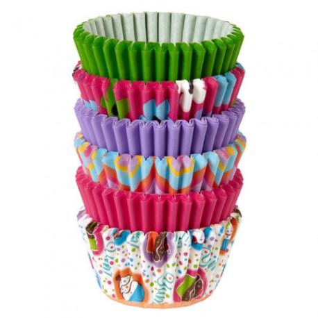 Mini papirčki za peko  in dekoracijo 415-2187 Primary 150 kos