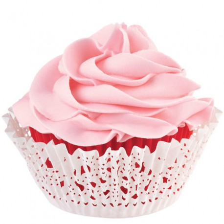 Papirčki za peko muffinov 415-2182 Pink Turquise 150 kos