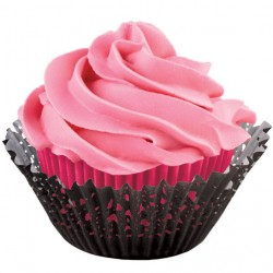 Papirčki za peko 415-0661 Doily Kit Pink 48 kos