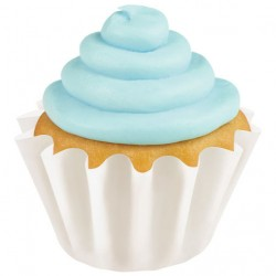 Papirčki za peko muffinov 415-0670  Wave White 24 kos