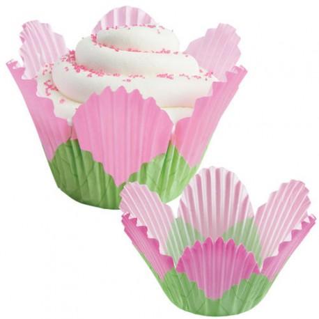 Papirčki za peko muffinov 415-1375  Petal Pink 24 kos