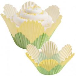 Papirčki za peko 415-1443  Petal Yellow 24 kos