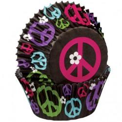 Papirčki za peko 415-1868 Color Wheel 75 kos