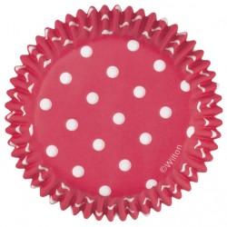 Papirčki za peko 415-7068 Black Dots 75 kos