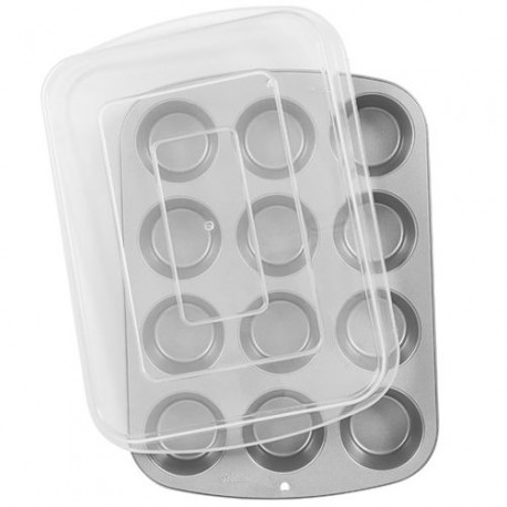 Pekač 2105-1832 Recipe Right Covered Muffin Pan