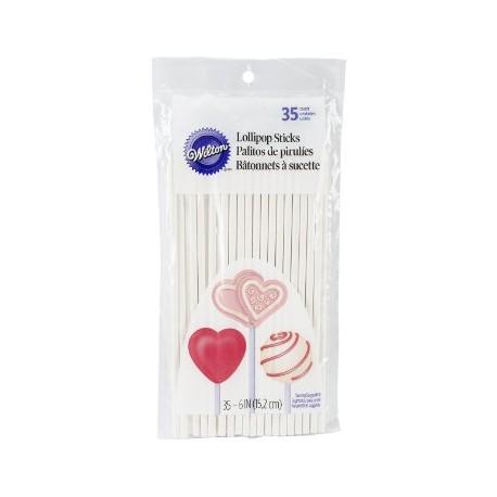 Palčke za lizike Wilton 1912-1006 Lollipop Sticks