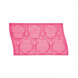 Model za lizike LP01 Lollipop Mould Cupcake