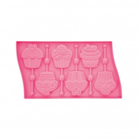 Model za lizike LP01 Lollipop Mould Cupcake