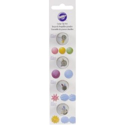 Set za dekoriranje Wilton 418-1703 Large Round & Star Tip Set