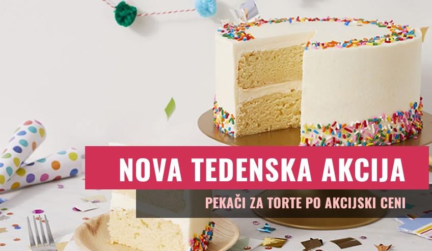 PEKAČI ZA TORTE - AKCIJA